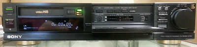 PLAY Hi8 Video8 Video 8 8mm Tapes w/ Sony EV-S3000 Player Recorder VCR Deck EX