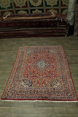 Nice Handmade Traditional S Antique Kashan Persian Rug Oriental Area Carpet 6X9