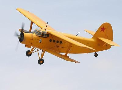 1/14 Scale Russian Antonov AN-2 Biplane Plans and Templates