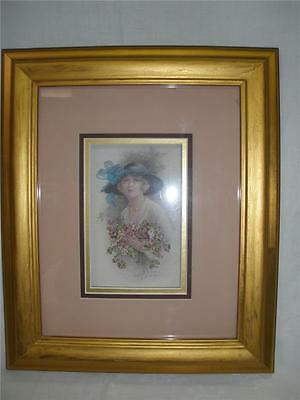 Fabulous Hand Made Wall Hanging Framed3D Picture Embroidery