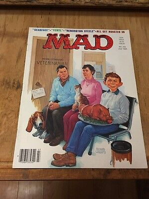 MAD MAGAZINE 248 July 1984 Scarface, Yentl,Remington Steele all get roasted