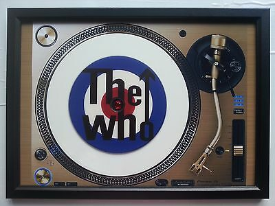 The Who Unique The Who Memorabilia Presentation Disc Frame
