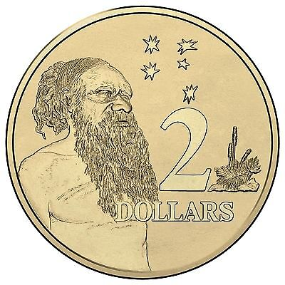 2017 Australia, Choice $2 TWO DOLLAR COIN from Royal Australian Mint Roll