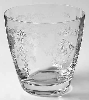 Fostoria NAVARRE CLEAR Double Old Fashioned Glass 148753