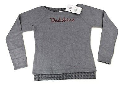 Couture NFL Womens Washington Redskins Dual Threat Crew Sweatshirt NWT Pick  Size 5729a01c7