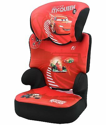 TT Disney Cars Groups 2-3 Befix SP Red Booster Car Seat. From Argos on ebay