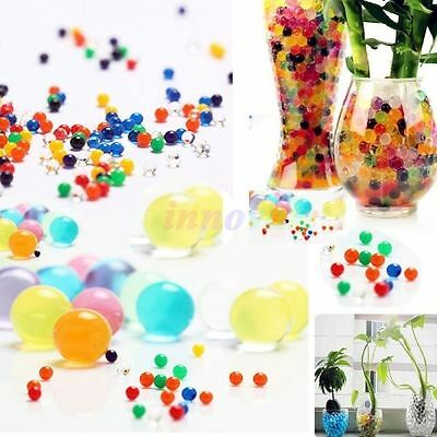10 Bag New Pop Jelly Beads Water Plant Flower Crystal Soil Mud Pearls 3g/bag