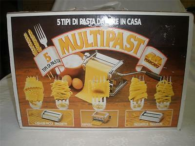 Multipast 5 Way Pasta Machine Made In Italy