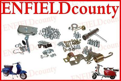 New Vespa Scooter Complete Bodyline Nut Bolt Fixing Kit Small Frame Scoots @cad