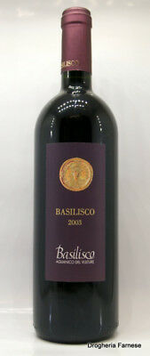 Basilisco Aglianico Del Vulture Il Basilisco 2003 75 Cl. 14 Vol.