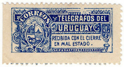 (I.B) Uruguay Telegraphs : Envelope Seal
