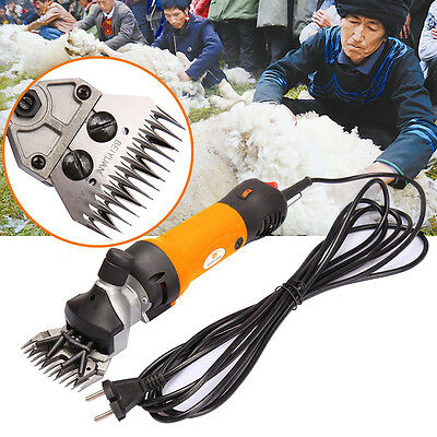 New 320W Electric Sheep Shearing Clipper Shear Goats Supplies Alpaca Farm Shears