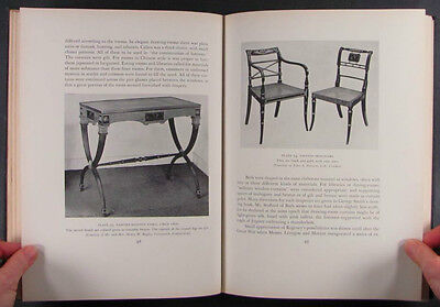 Duncan Phyfe Furniture Antique New York Federal Cabinetmaker 1939 Edition