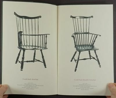 Antique American Windsor Chairs - 1987 Dealer Catalog from Hirschl & Adler