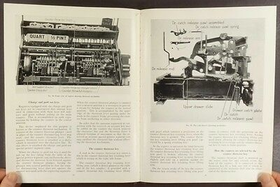 1949 National Cash Register Class 700 and N-4000 Register Mechanic Service Book