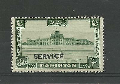 PAKISTAN 1948  GV1 3A Official Stamp   mounted mint