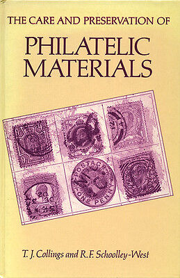 The Care and Preservation of Philatelic Materials (Stamp Book)