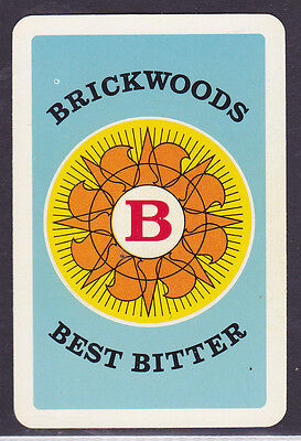 Brickwood Best Bitter,The Portsmouth Brewery,Single playing Card