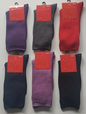 6 Pairs New Mens Sz 6-10 Bonds Cotton No Show Socks With Silicone Grip