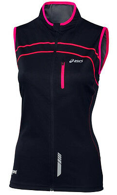 Asics Gore Ladies Running Gilet - Black