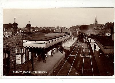 Berkshire. Wokingham Railway Station.
