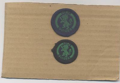 Variety Pair Girl Guide Proficiency Badges-Stitchery