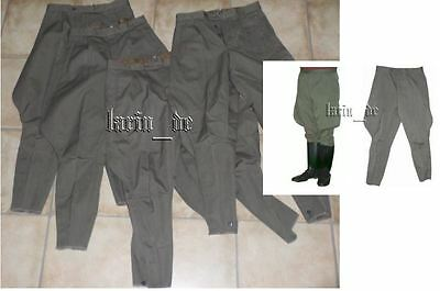 4 Stück DDR NVA Stiefelhose Reithose East german military army Breeches GDR RDA