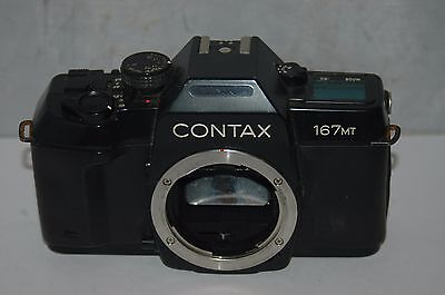 Contax 167Mt    35 Mm Film Camera Body : Working. Not Fully Tested.