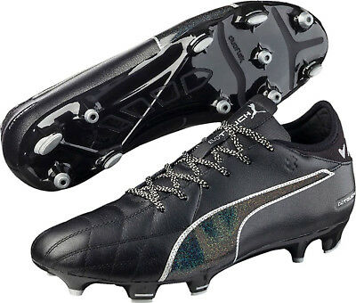 Puma EvoTOUCH 3 Firm Ground Mens Football Boots - Black