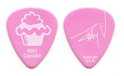 Avenged Sevenfold Zacky Vengeance Signature Pink Cupcake Guitar Pick - 2014 Tour