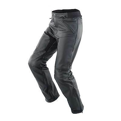 Spidi Naked Motorbike / Motorcycle Leather Jeans / Pants - Black