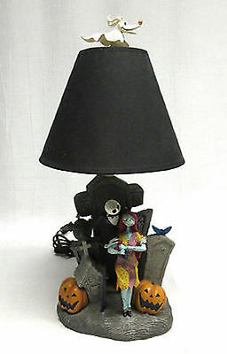 Disney Direct Nightmare Before Christmas Jack & Sally Table Lamp #43986