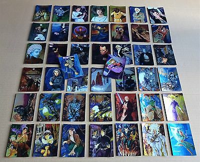 Selection Of Topps  Star Wars Finest Base Set Chromium Single Cards  Free P/P