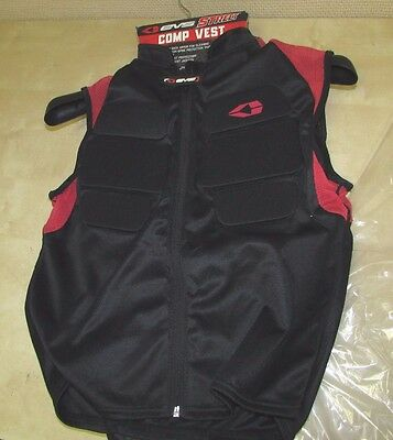 Evs   Comp Vest -  Armored Vest With Front+Bak Back Protection - Mens Large / Xl