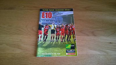 2005-06 Orient v Northampton - 86 page special
