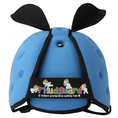 Thudguard Infant Baby Safety Protective Head Gear Helmet Hat Blue NEW
