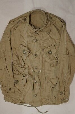 Canadian Forces Somalia 1992 Type C 6742 MKII Tan Combat Shirt Lightweight Coat