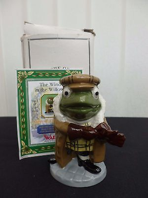Wade Toad Of Toad Hall The Wind In The Willows Collectors Club Boxed With Coa