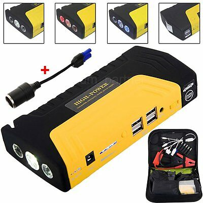 68800MAh 4USB Pocket Diesel Car Jump Starter for Charger Battery Power Bank LED