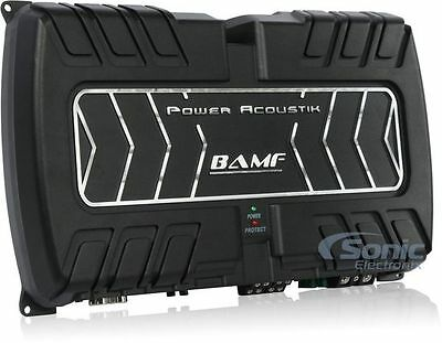 Power Acoustik BAMF4-1800 1800W 4-Channel BAMF Series Class AB Car Amplifier