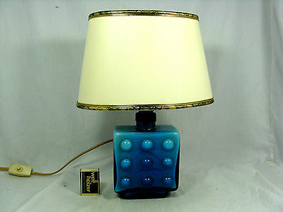 "Rare 70´s German Pop Art "" bubble "" Design Karl Friedrich Glas Lampe glass lamp"