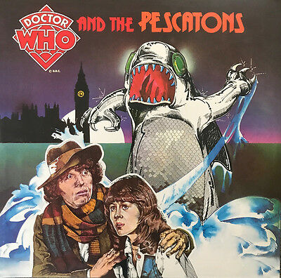 DOCTOR WHO & THE PESCATONS & SOUND EFFECTS 2LP 180g COLOUR VINYL RSD 2017 SEALED