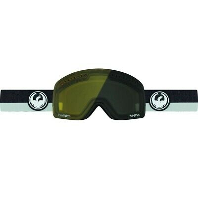 New Dragon NFXs Ski Snowboard Goggles Flux Grey Injected Transition Yellow Lens
