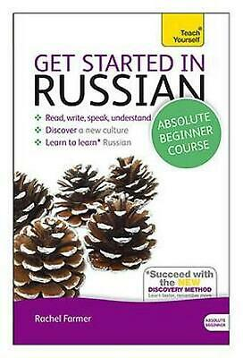 Get Started in Beginner's Russian: Teach Yourself: (Book and audio support) by R