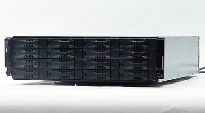 Dell Equallogic Ps6000 16-Bay Storage Array Chassis E01J Rs-1603 2*power Supply