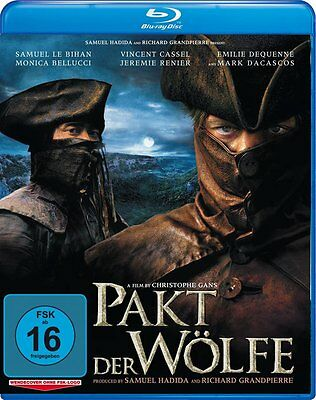 Brotherhood of the Wolf IMPORT BLU-RAY NEW USA Compatible