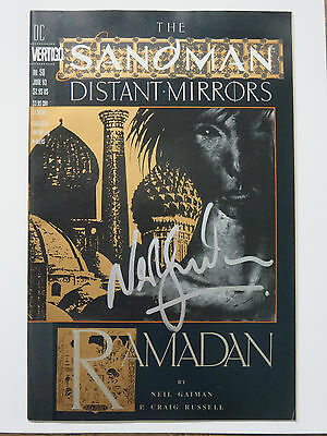 Sandman #50 (DC Vertigo June 1993) Signed by Neil Gaiman Ramadan Issue