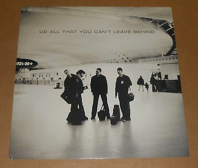 U2 All That You Can't Leave Behind Poster 2-Sided Flat Square Promo 12x12