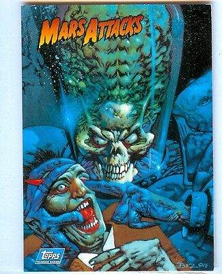Mars Attacks Archives Promo Card #P2