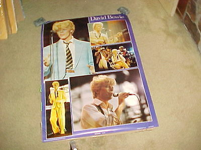 David Bowie  Poster #2 Collage Style Anabas Products England 1984